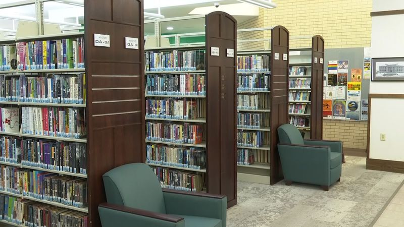 A shot inside Peter White Public Library in Marquette. (WLUC FIle Photo)