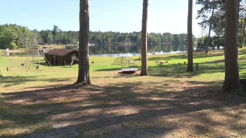 The park offers lake access, and several outdoor activities