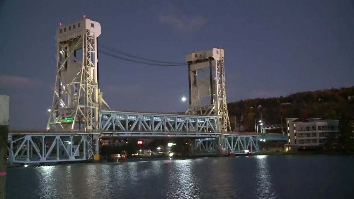 Portage Lake Lift Bridge.