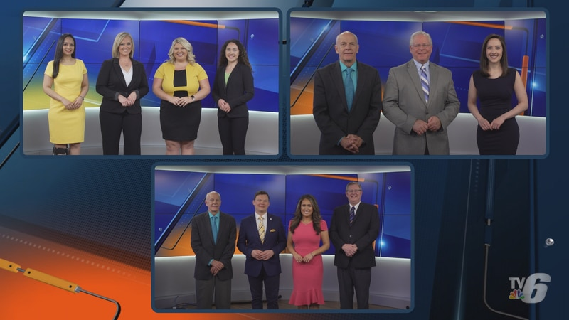TV6 has unveiled a new anchor line-up for 3 daily newscasts. Top left: TV6 Morning News team....