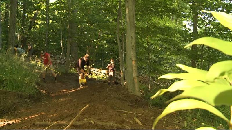 The club is looking to add five miles of single-track in the city of Munising by the end of the...