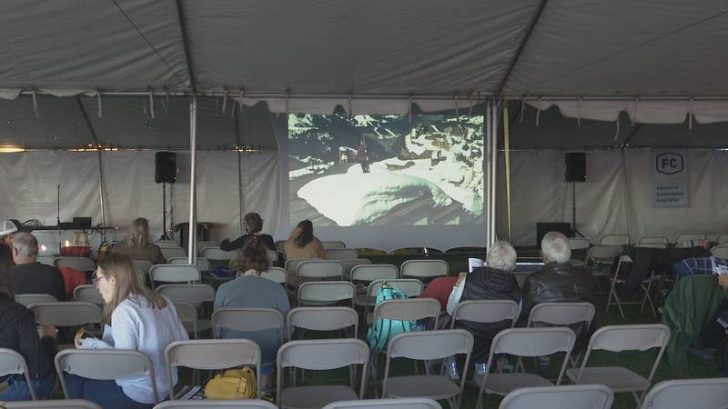 The Fresh Coast Pre played some films to preview the weekend full of adventure documentaries.