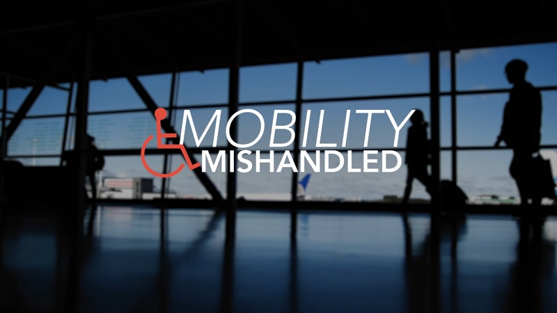 Records show an increasing number of complaints about mobility equipment being damaged or...
