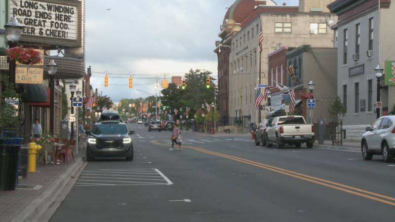 Downtown Marquette.