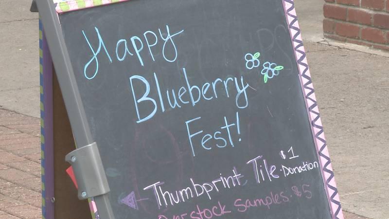 Blueberry Fest (WLUC Photo)