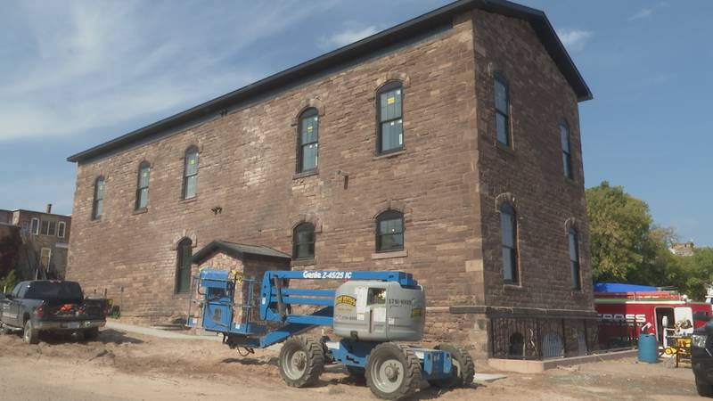 The Customs House is near the Ore Dock in Marquette, on the corner of Baraga and Lakeshore.