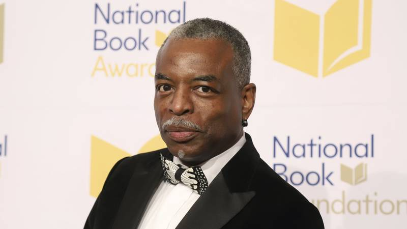 FILE - LeVar Burton attends the 70th National Book Awards ceremony in New York on Nov. 20,...