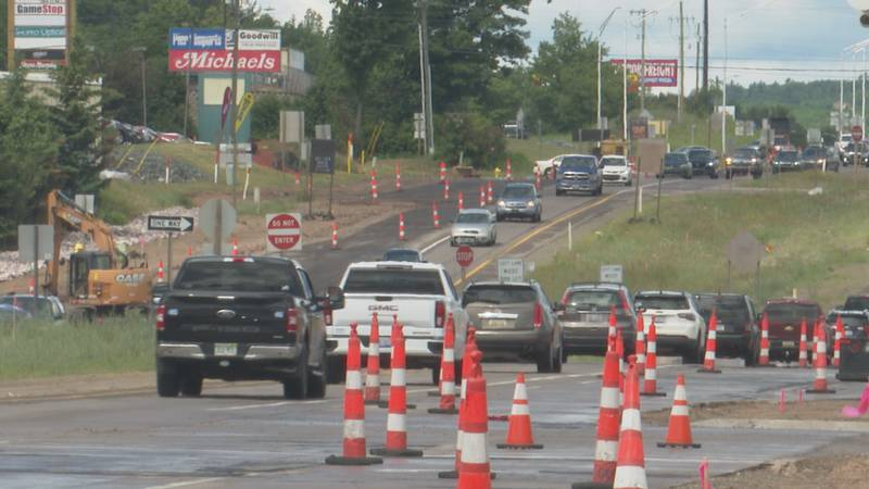 US-41 Construction will continue into the fall.