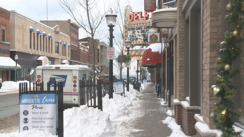 Downtown Marquette businesses offer a variety of options to serve the community during the...