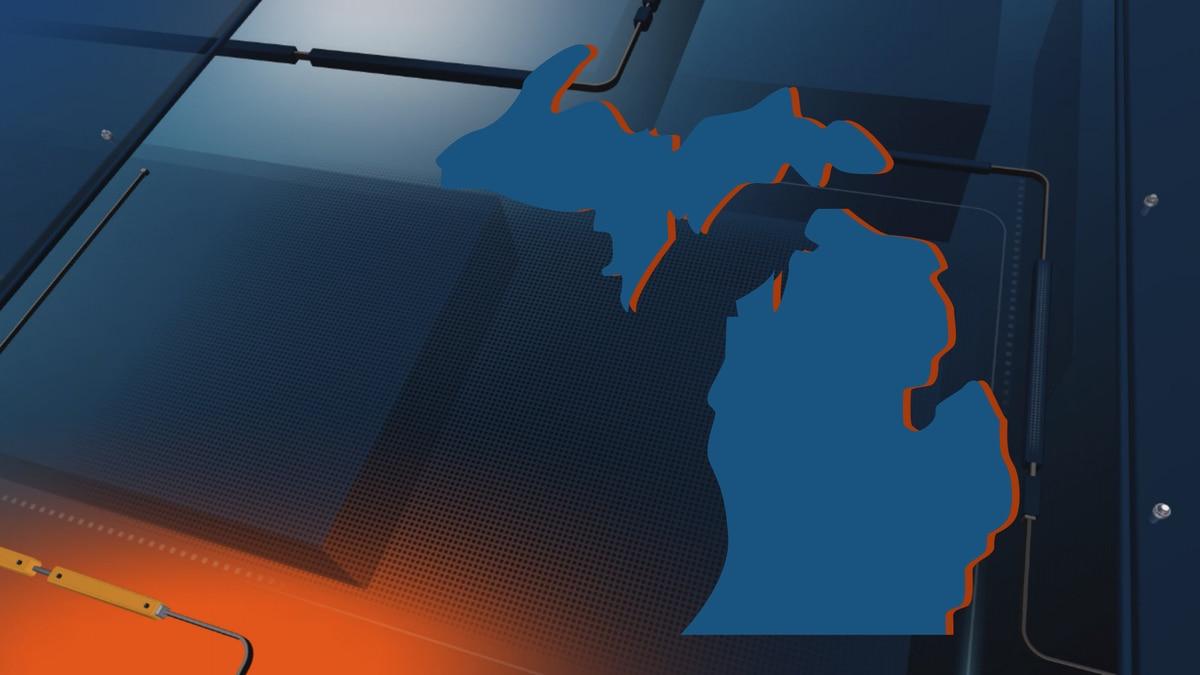 Michigan map graphic.