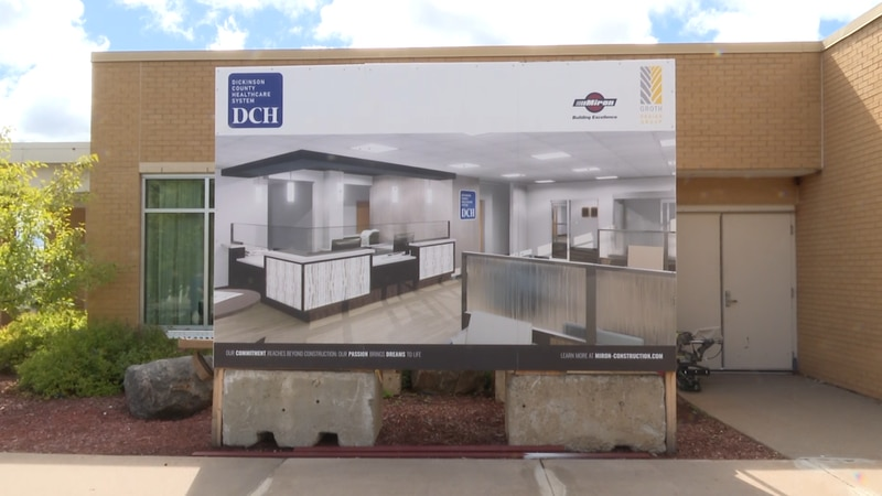 The new emergency room will allow for a seamless transfer of patients