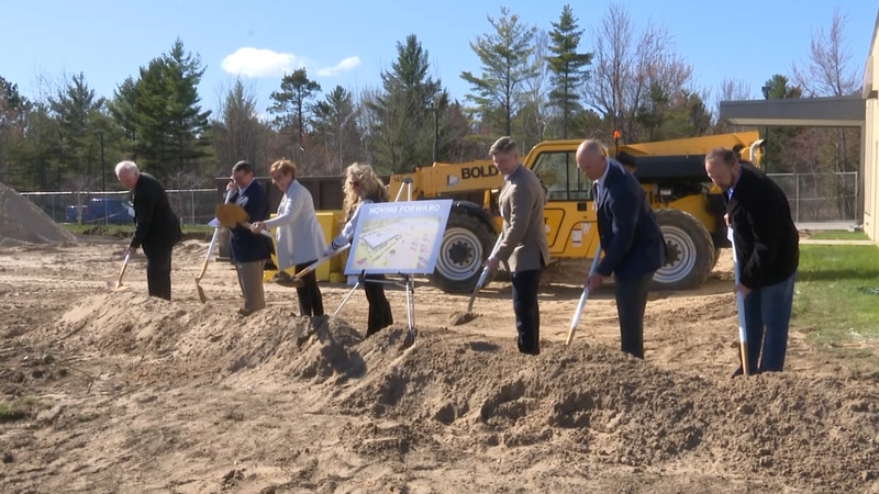 Hospital administrators and local leaders break ground for Phase Two Expansion Project