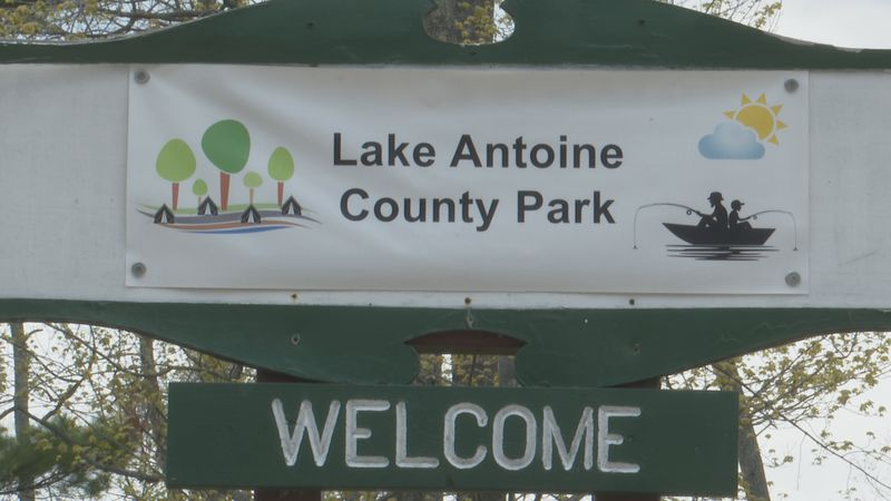 Lake Antoine County Park in Iron Mountain.
