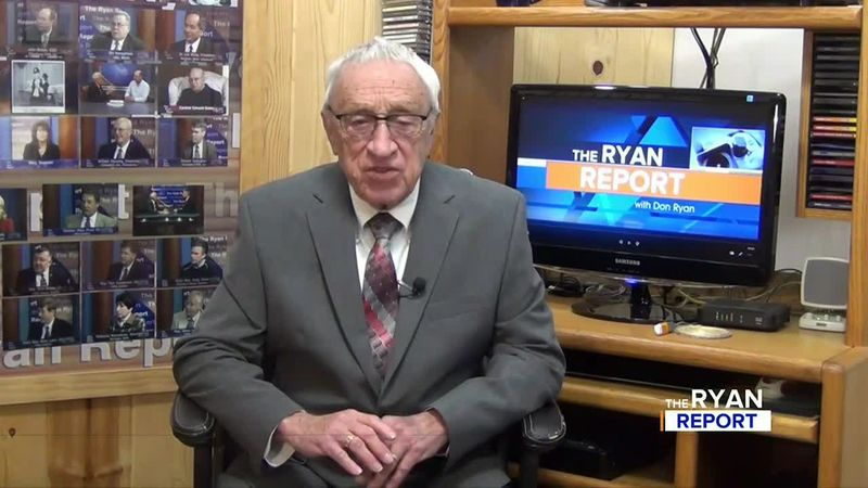 TV6's Don Ryan during the Nov. 22, 2020 episode of The Ryan Report.