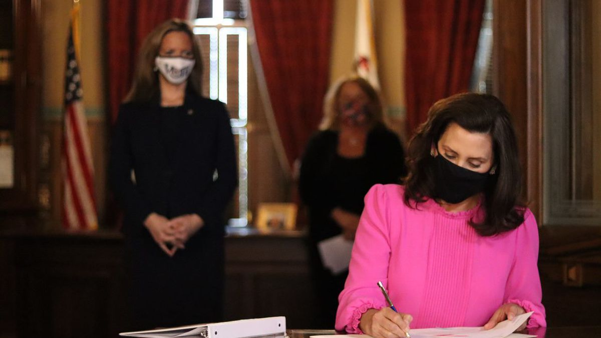 Governor Gretchen Whitmer signed Senate Bill 757, which will help the State of Michigan ensure...