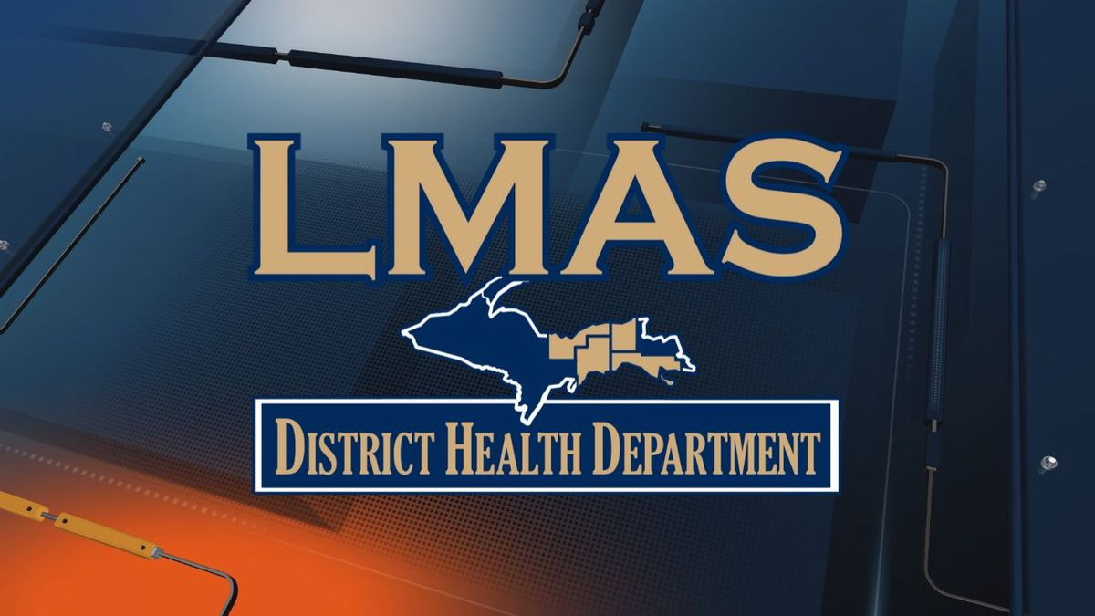 (LMAS District Health Department logo)