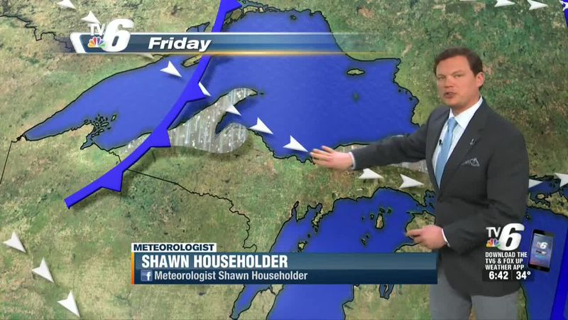 Nuisance snow flurries or drizzle possible for some