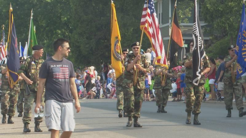 Ishpeming parade