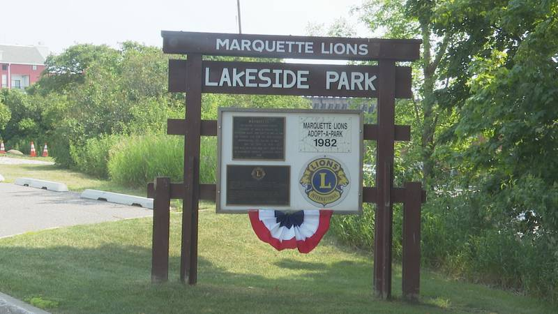 The Marquette Lions Lakeside Park is located next to the Lake Superior Partnership Building  on...
