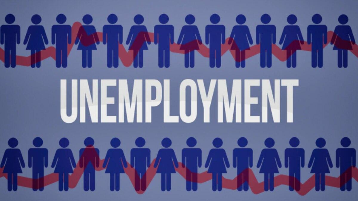 Unemployment graphic.