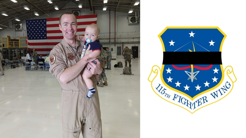The Wisconsin Air National Guard's 115th Fighter Wing identified the pilot who died in an F-16...