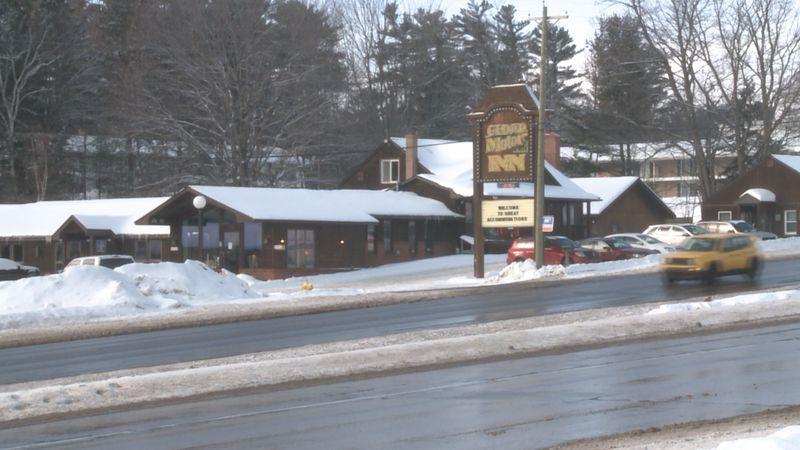 The Cedar Motor Inn on US-41.