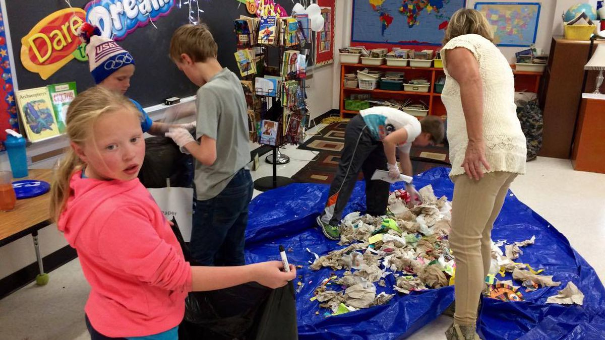 Some fourth grade students at CLK Elementary said the day's lesson stunk. But that didn't stop...