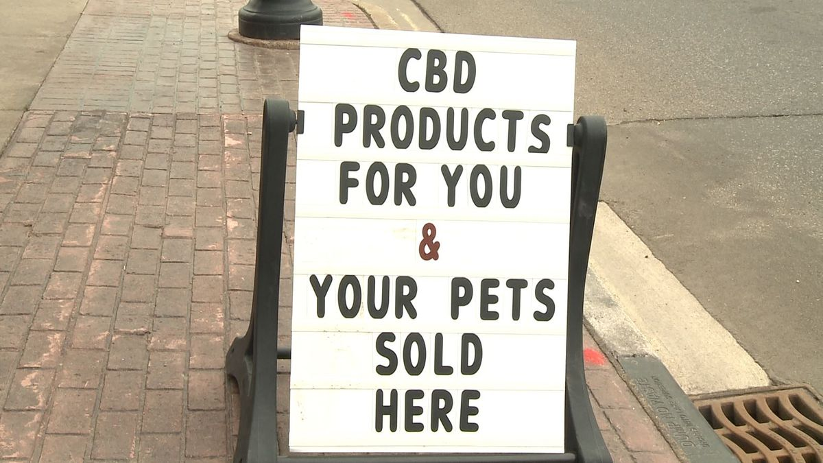 Veterinarians are unable to speak about the product to patients due to specific laws. These laws, though, don't prevent stores from carrying CBD in various forms for your pets. (WLUC Photo)