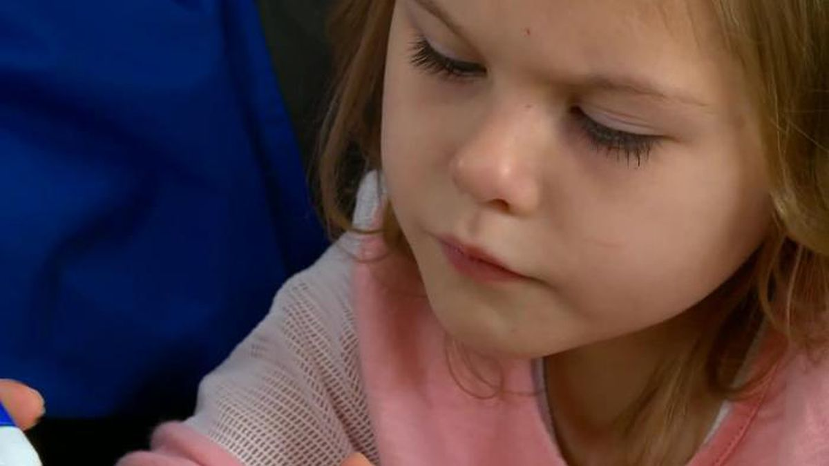 A 4-year-old girl with a vascular ring will have her 43rd surgery later this month. (Source: KCCI/CNN)