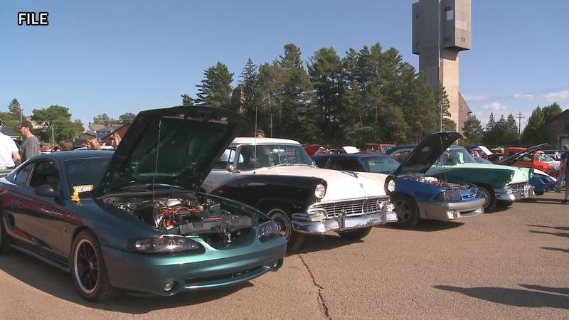The Buzz the Gut car show usually includes 250-300 vehicles.
