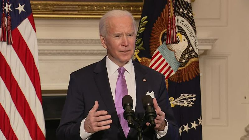 President Biden's push to get more Americans vaccinated for the coronavirus. (Source: CNN)