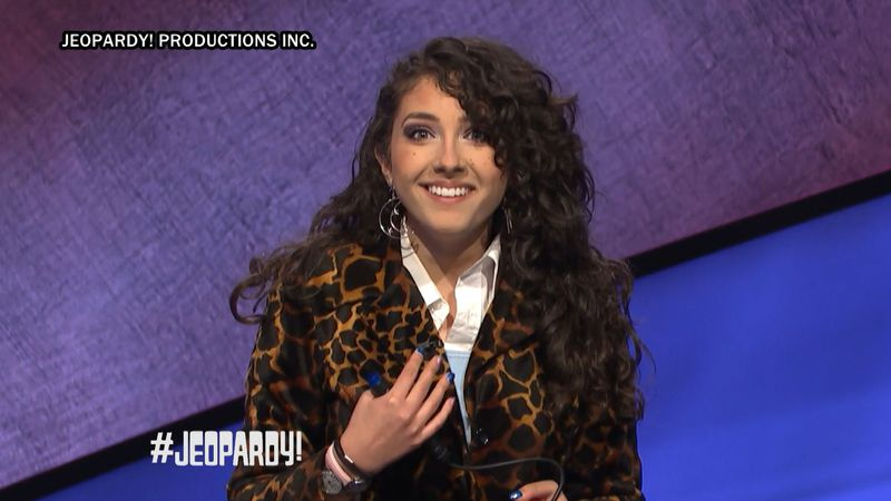Kalee Hernandez on Jeopardy!