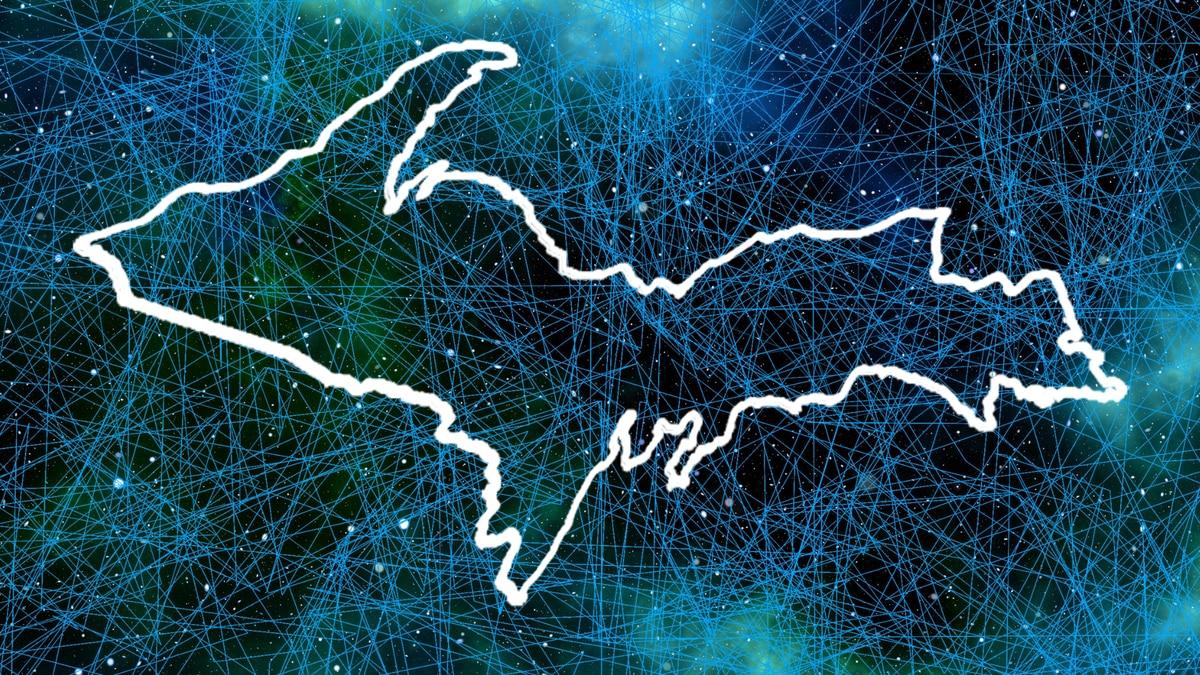 Internet connectivity in Upper Michigan.