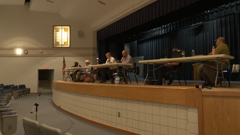 Board members and the public held meaningful discussions about COVID-19 precautions at...