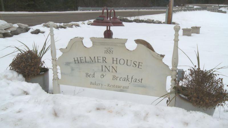 The Helmer House Inn in McMillan.