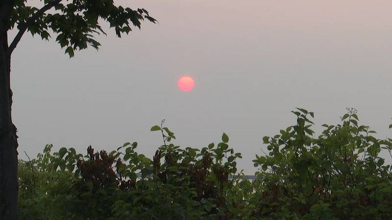 Wildfire season remains active and the smoke is making its way to the U.P. -- some of the fires...