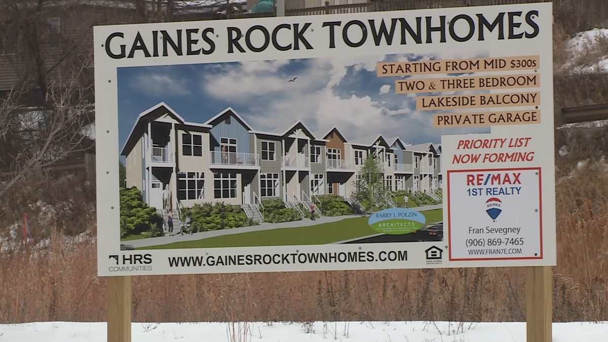Home Renewal Systems Founders Landing plans to build two and three bedroom townhomes just north...