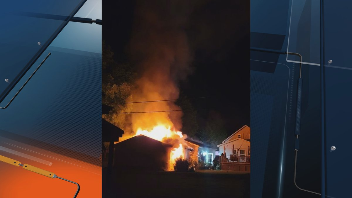 According to the Ishpeming Fire Department, the fire started on the 700th block on Maurice...