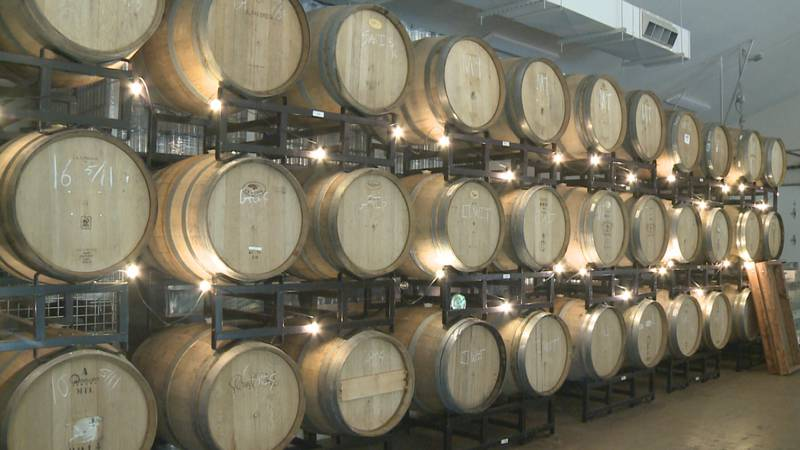 Barrel + Beam's brewery in Marquette Township.