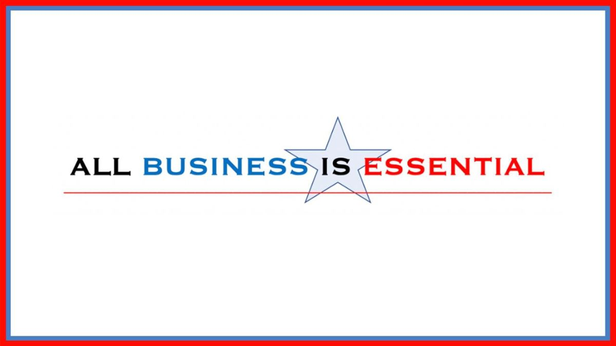 (All Business is Essential Logo)