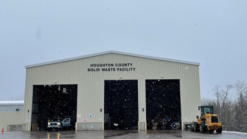 Houghton County Solid Waste Facility will now act as a single-stream recycling center.