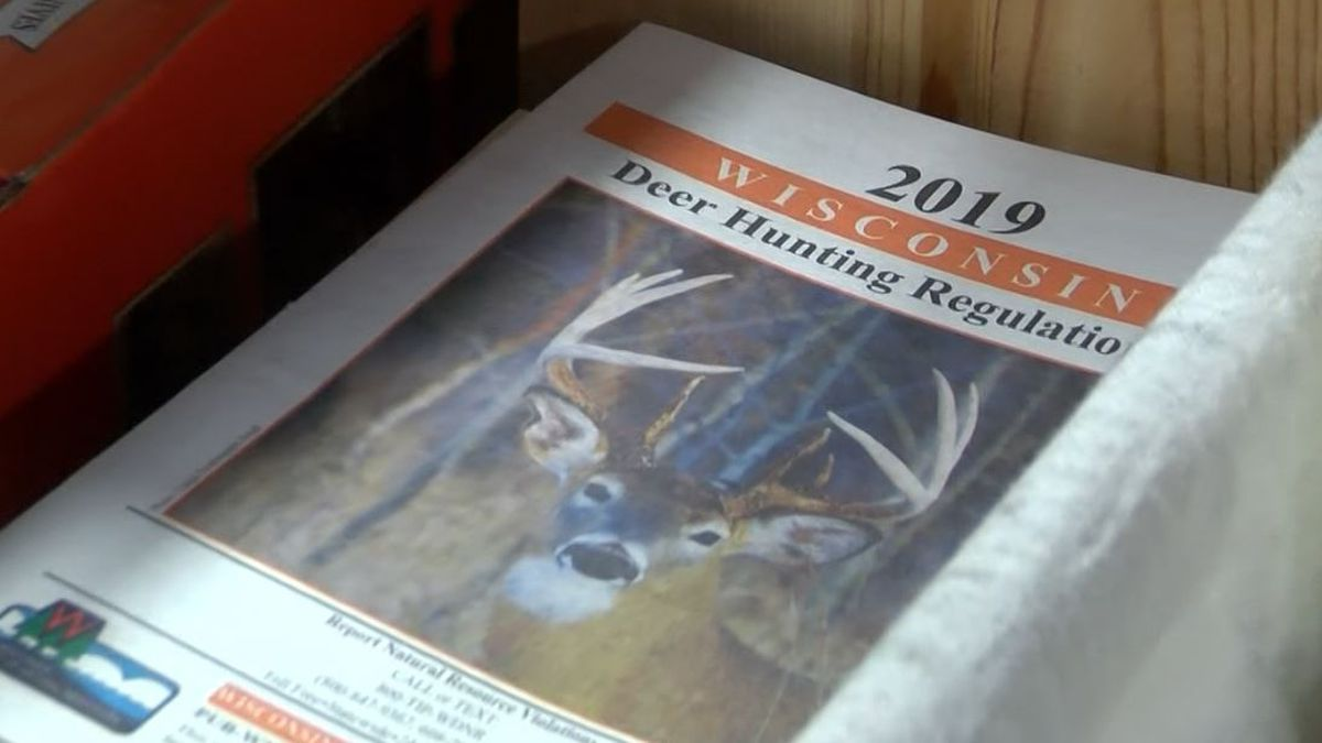Wisconsin deer hunting regulations book for 2019. (WLUC Photo)