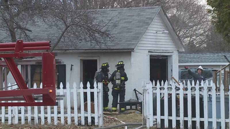 FILE. Firefighters respond to a THC extraction fire in Marquette on April 6, 2021.