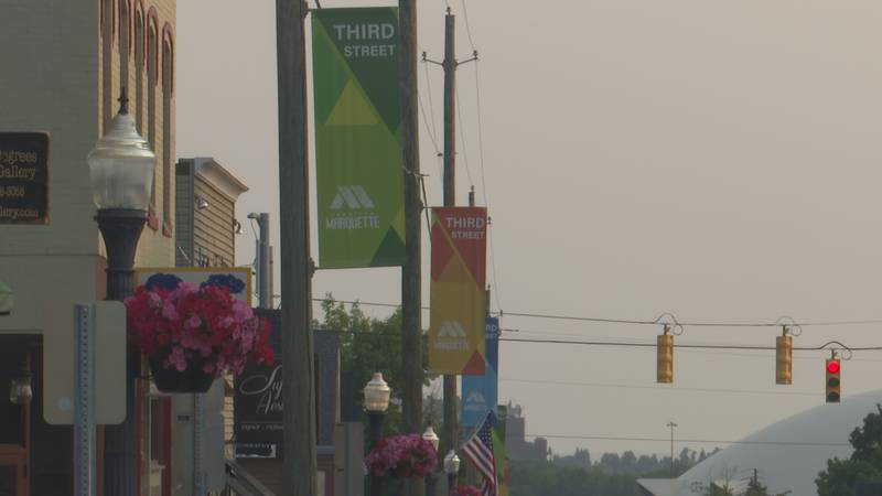 Third St. in downtown Marquette.