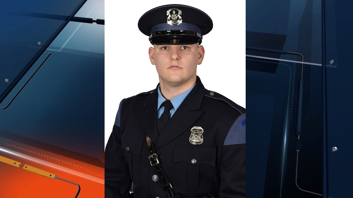 Michigan State Police Motor Carrier Officer Jacob Lauer