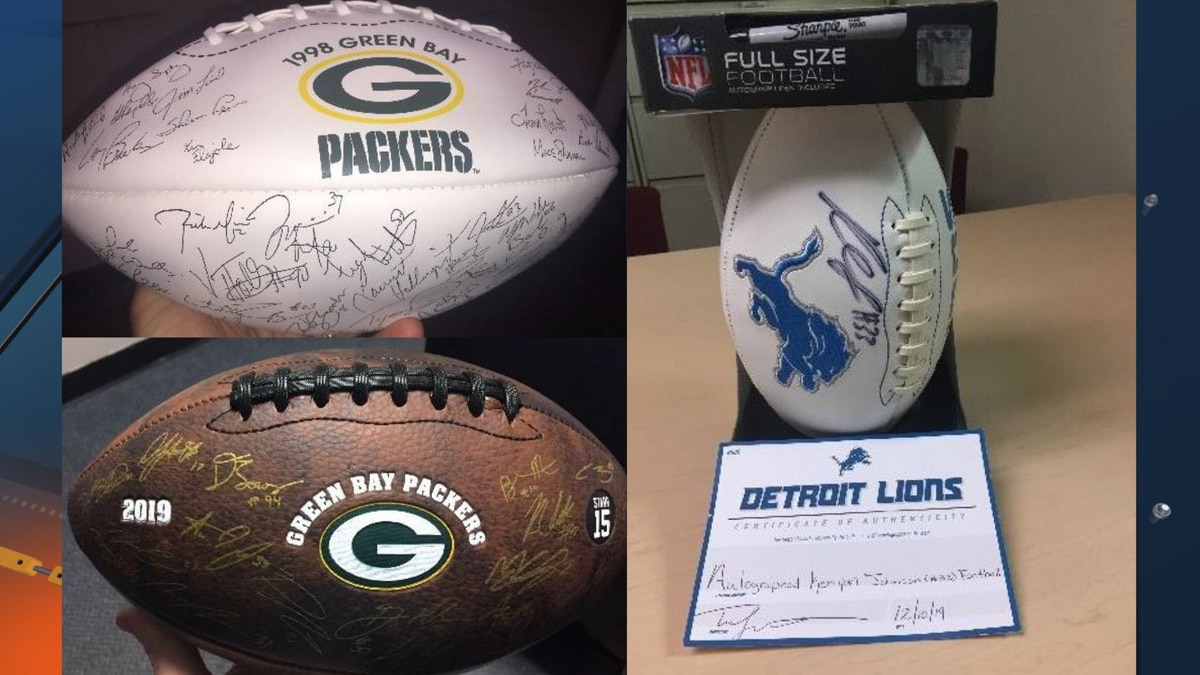 United Way of Marquette County is launching an auction fundraiser, bidding on two autographed...