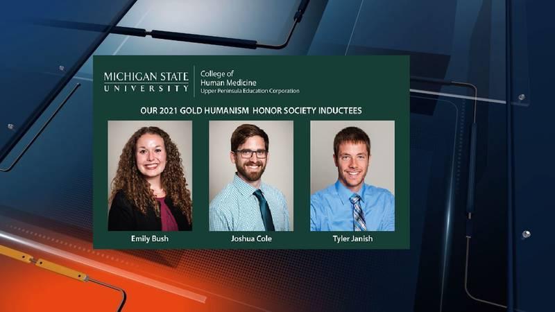 Emily Bush, Joshua Cole, Tyler Janish (photo credit: Michigan State University)