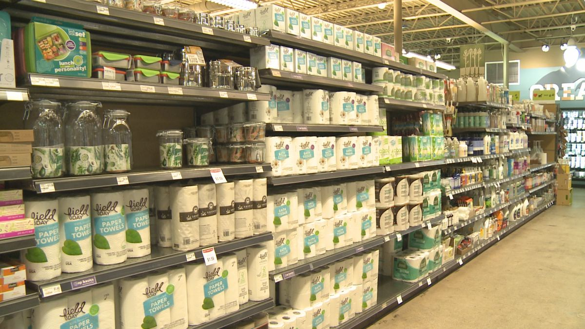 Toilet paper and paper towels are fully in stock at the Marquette Food Co-op.