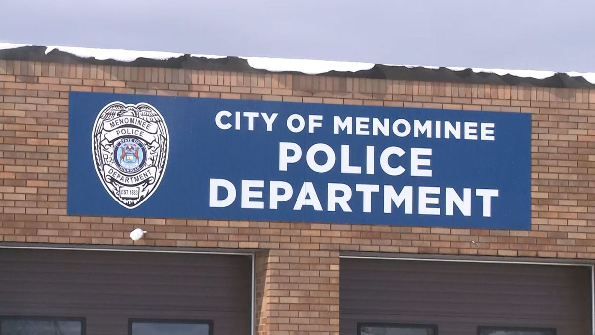 City of Menominee Police Department. (WLUC Photo)