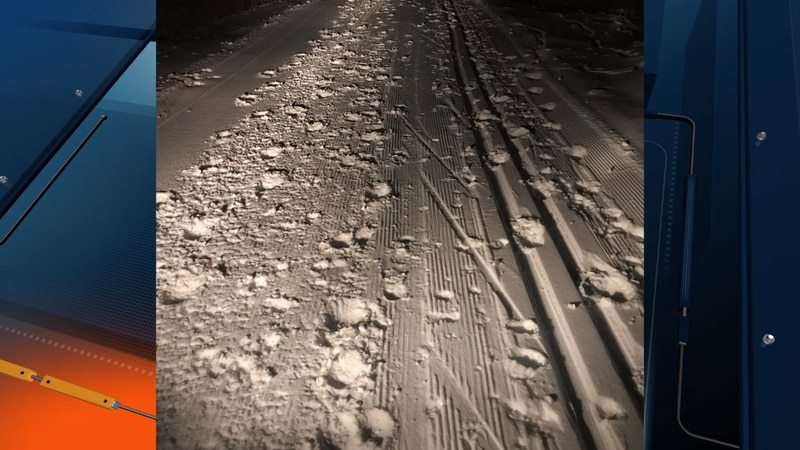 Following damage to freshly-groomed trails the NTN shared a photo of it in an effort to remind...